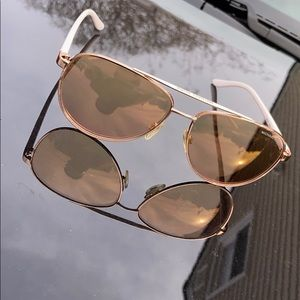 ROSE GOLD MK SUNGLASSES